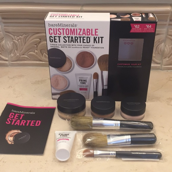 Bareminerals Makeup Bare Minerals Customizable Get Started Kit
